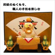 和紙 申 猿 干支 飾り 置物 お正月  りゅうこどう